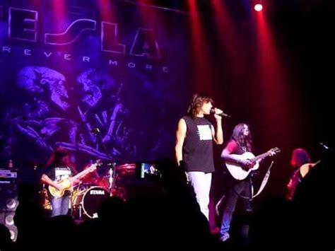 Tesla Song Live Tesla Song Live Concert 10 30 09 Penns Peak