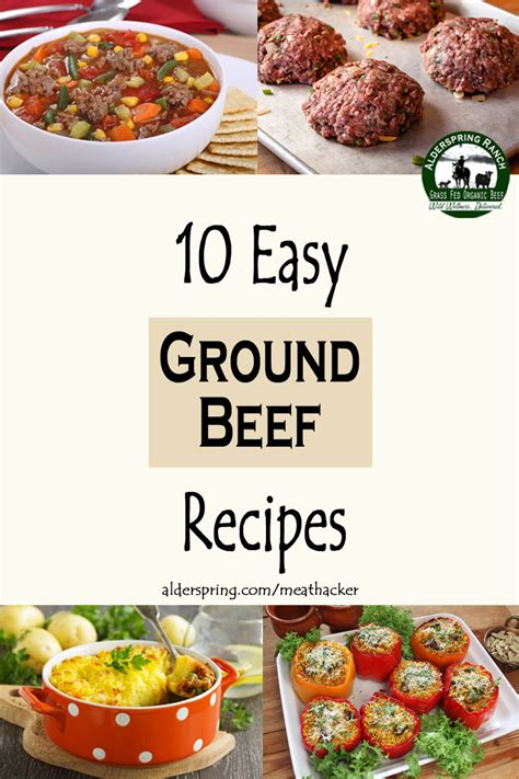 10 easy ground beef recipes meathacker