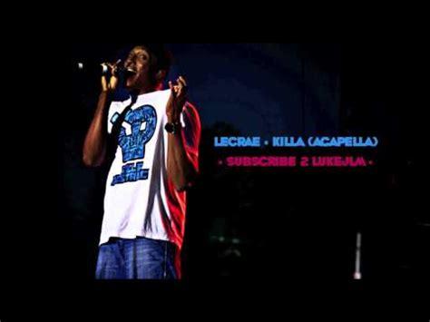 lecae killa lecrae rehab killa lyrics