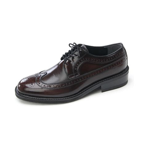 brown mens dress shoes mens wingtips brown cow leather dress shoes