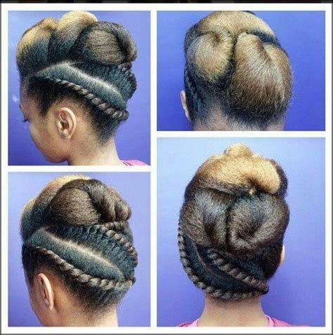 protective hair styles with no tension on the edges 164 best protective styles for natural hair images on