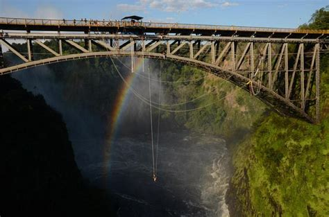 Bridge To Africa Finds For A Cause by Bungee Jump Falls Jenman Safaris