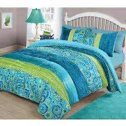 Cheetah Comforter Sets Your Zone Cool Boho Comforter Set Walmart Com