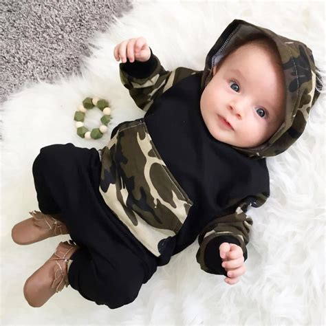 Gelang Baby 2 Pcs 2017 baby boy clothing sets hoodies sweatshirt