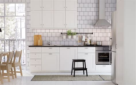 Nordic Kitchens by Cook Together In Classic Nordic Style Ikea