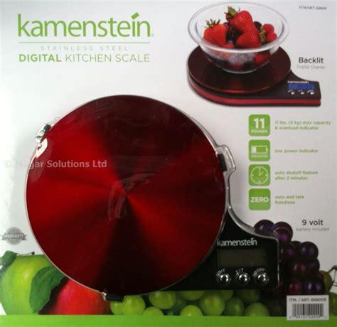 Kamenstein Digital Kitchen Scale by Kamenstein Stainless Steel Digital Designer Kitchen Scales Ebay