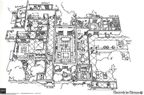 spanish hacienda floor plans with courtyards style house plans courtyard spanish hacienda homes architecture plans 51509