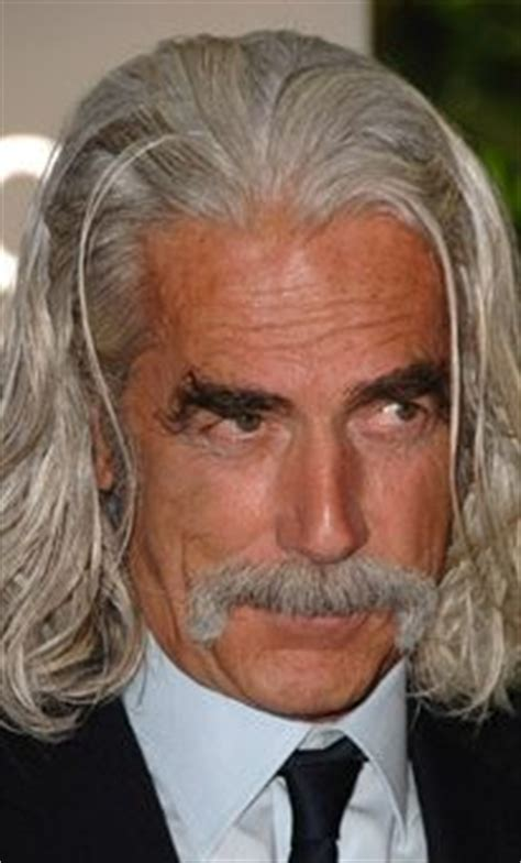 The Moustache Is A Goner by Sam Elliott On Sam Elliott Lifeguard And Masks
