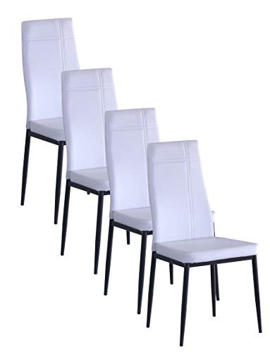 kings brand black metal dining room chair with vinyl seat kings brand gray metal frame dining side chair white faux