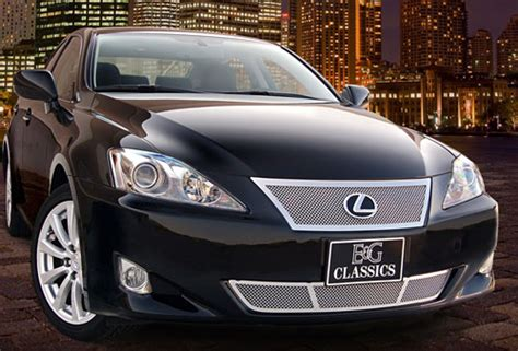 lexus is250 is350 mesh grille by e g classics 2006