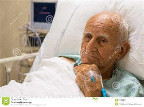 old man in bed elderly man royalty free stock photo image 31755355