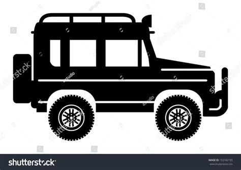 off road vehicle vector illustration 153182195