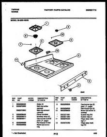 gas cooktop spare parts tappan 3039910003 range gas timer stove clocks and
