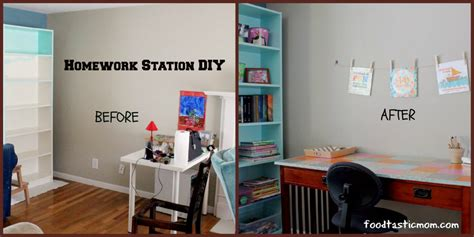 diy station homework station diy foodtastic