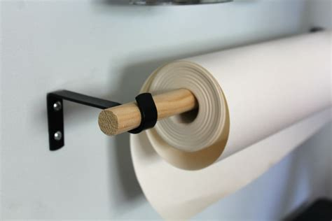 ikea paper roll art supplies organizer
