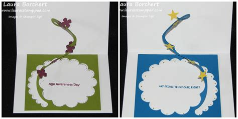how to make pop out cards technique tuesday spiral pop out card s st