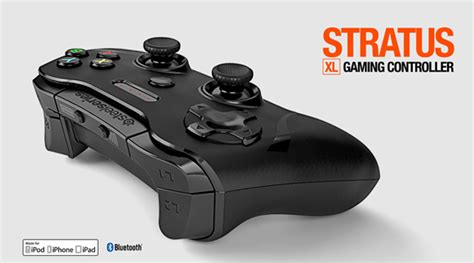 steelseries stratus xl is a xbox one style controller for iphone and redmond pie