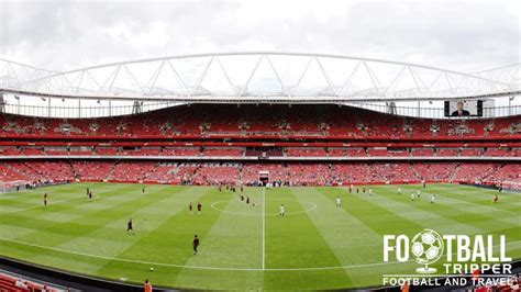 Clock Stand by The Emirates Stadium Arsenal Guide Football Tripper