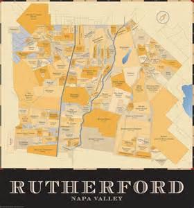 rutherford california map rutherford california map california map