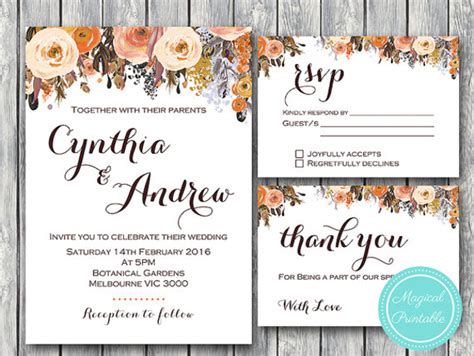 Wedding Invitations Template 9 Free Psd Vector Eps Png Format Download Free Premium Fall Wedding Invitation Templates