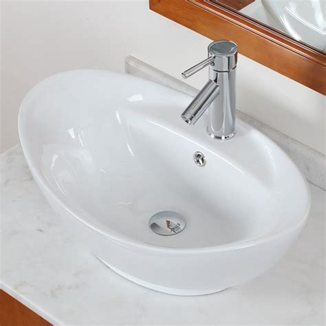 bathroom sink counter american imaginations above counter oval vessel bathroom