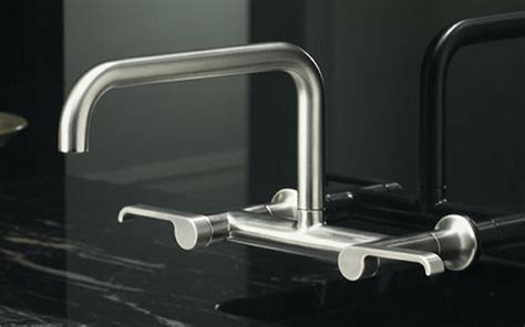 Wall Mounted Faucets Kitchen by Home Decor Wall Mounted Kitchen Faucet Industrial