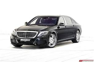 official 900hp mercedes maybach s600 by brabus gtspirit