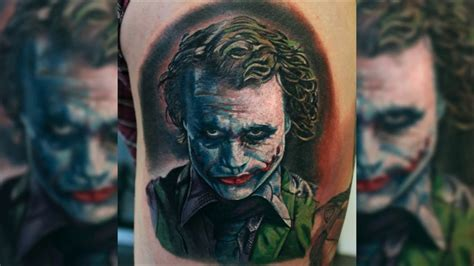 quot joker quot tattoo timelapse by mitch youtube