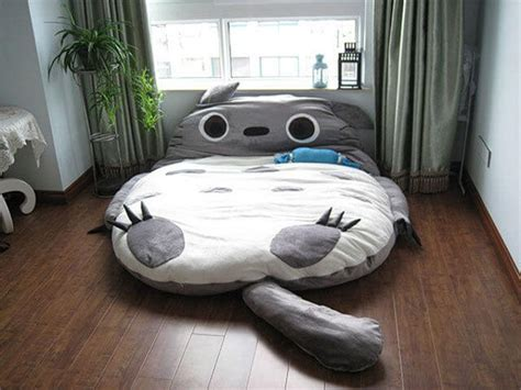 the dream bed my dream bed a giant totoro sleeping bag bed apartment