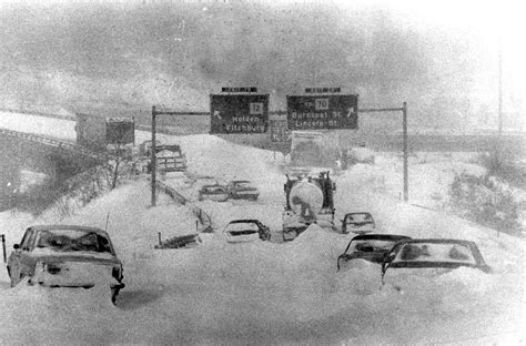 Worst Blizzard In Us History blast from the past news telegram com worcester ma