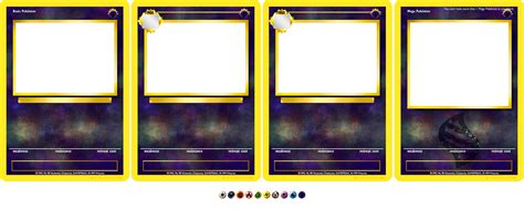 water type card template card templates by aschefield101 on deviantart