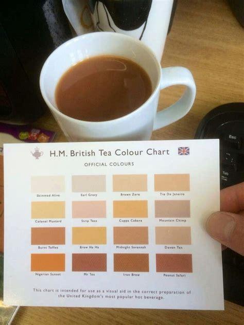 tea color h m tea colour chart rule britannia