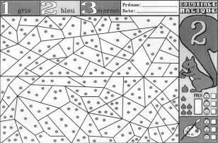 185 Dessins De Coloriage Magique 224 Imprimer Coloriage Magique Ms Gs Lettres L