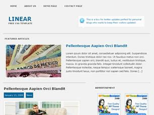 css linear layout linear free website template free css templates free css