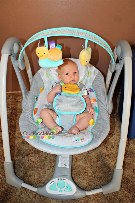 bright bouncy seat weight limit portable baby swing bright starts cotton tale portable