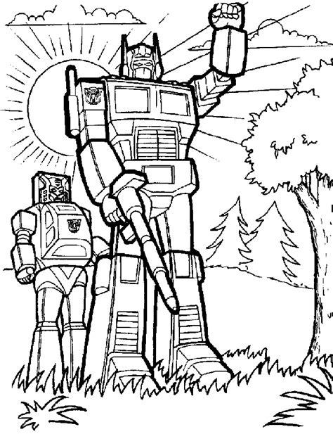 dibujos para pintar transformers robots para pintar imagui