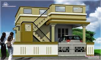 Kerala Home Design Single Story tamil nadu stylehouse elevation design nhomedesigncom