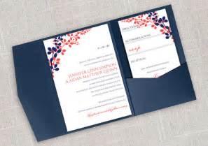 diy wedding invitations templates diy pocket wedding invitation template set instant