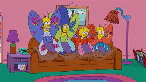 couch gags simpsons couch gag butterflies l7 world