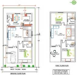 Floor Plan Mansani Constructions Pvt Ltd Laxmi Duplex House Plans 150 Sq Yards