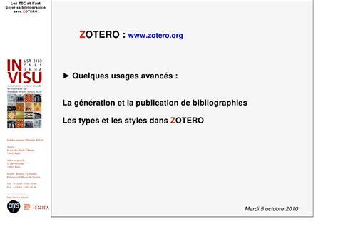 zotero tutorial español pdf les tic et l art zotero