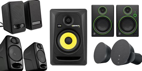 best speakers best desktop speakers for mac users logitech mackie krk