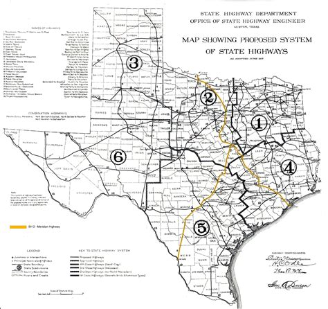 texas road construction map meridian highway history thc texas gov texas historical commission