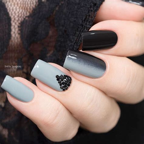 grey pattern nails 27 grey nails ideas to fall in love with naildesignsjournal