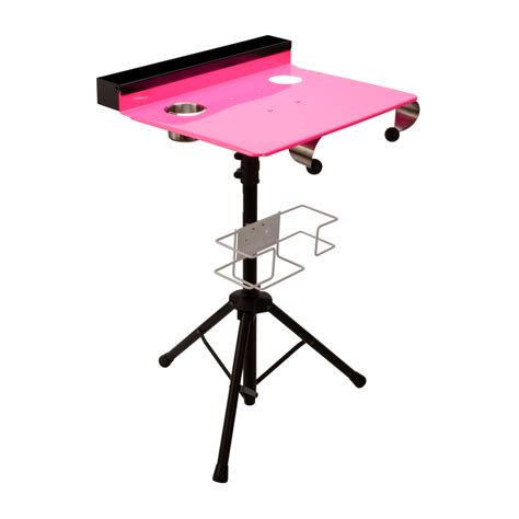 compact portable table porta station portable compact stand table travel desk