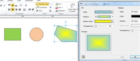 visio replace shape displaying the rgb values of shapes bvisual
