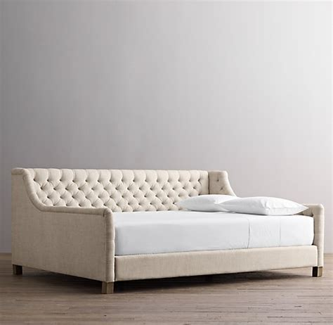 tufted day bed devyn tufted daybed weathered oak
