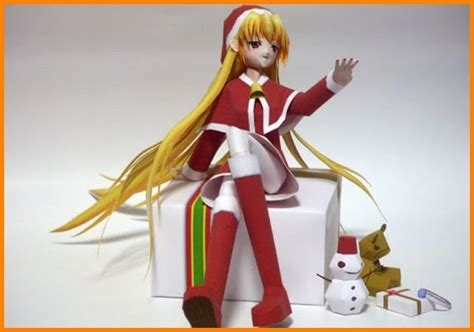 Anime Paper Crafts - anime papercraft free papercrafts paper