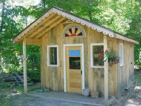 this is potting shed building plans easy