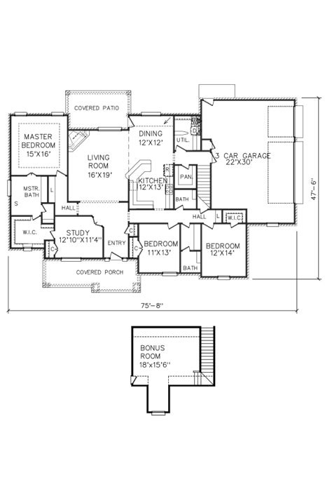 perry home plans floor plan 7988 2